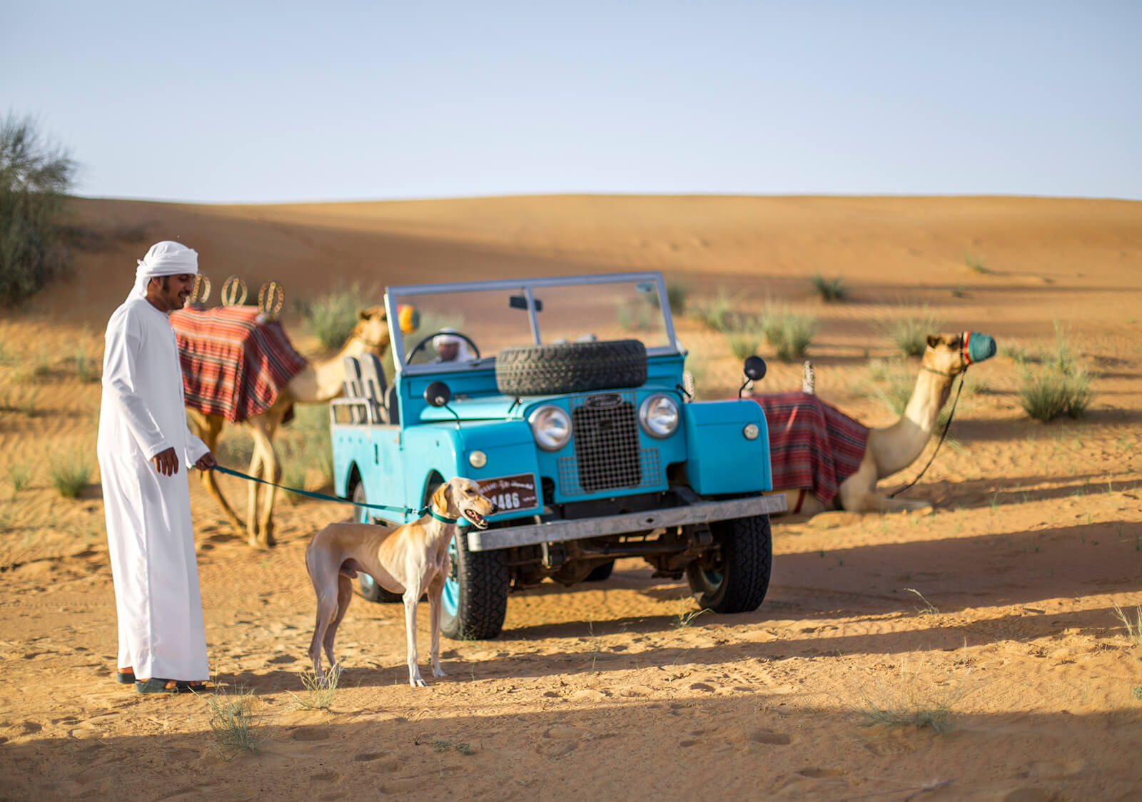 Authentic desert safari tour with a difference